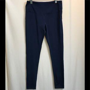 Marika sport navy blue workout leggings